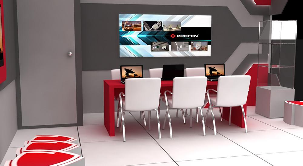 Tv studio furniture Broadcast Profen Studio Design Aka Design Profen Profen Studio Design Imaj Mimarlik Tv Studio Designs