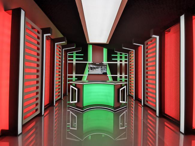 TURKCHEM TV Stüdyo Tasarımı