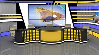 BEREKET TV Bereket Tv Stüdyo Tasarımı
