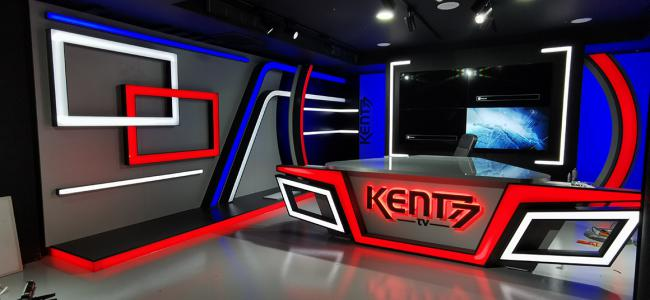 KENT77 WEB TV Stüdyo Tasarımı